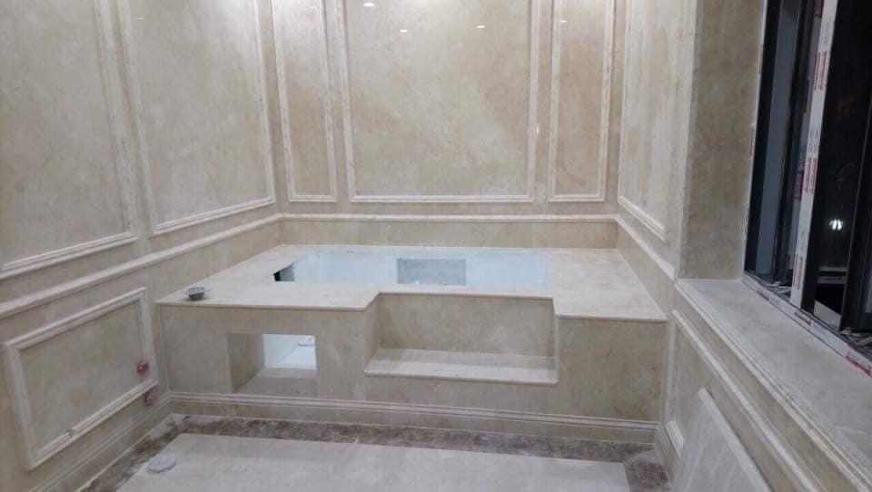 Quy trình sản xuất Đá hoa cương nhà tắm