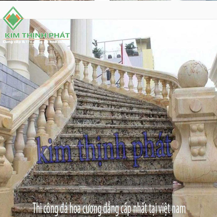 cầu thang đá